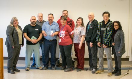 Activism award presented to CUPE 1144