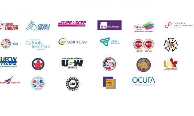 Unions release public statement