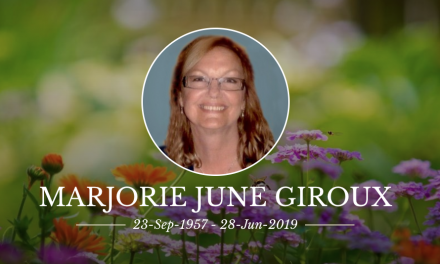 Marjorie Giroux, an outstanding activist from Lakeridge Healthcare, has died