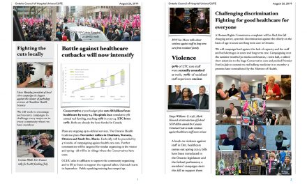OCHU campaigns update