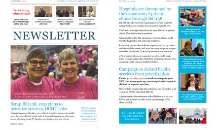 Newsletter – December 4