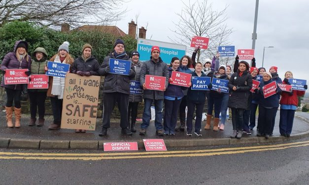 Northern Ireland nurses strike over pay and patient safety