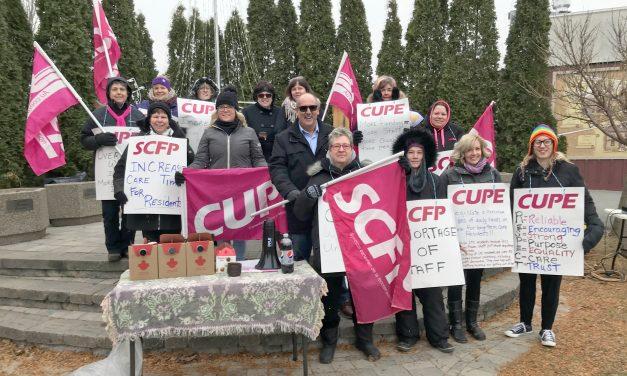 Staffing shortages, too low provincial funding,  prompt Cornwall long-term care rally on December 10