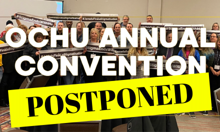 OCHU Postpones Annual Convention due to COVID-19