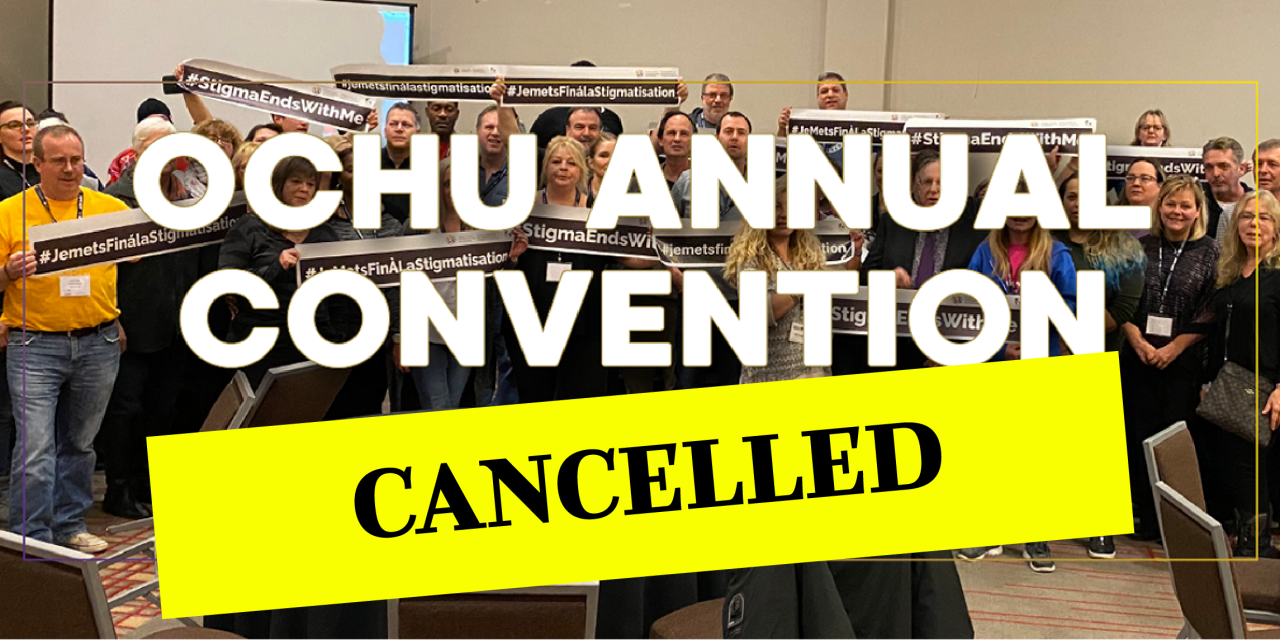 OCHU cancels Annual Convention due to COVID-19