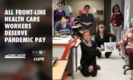 All front-line health care workers deserve pandemic pay