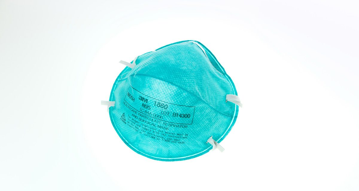 Major study finds N95 mask required to work safely with COVID-19