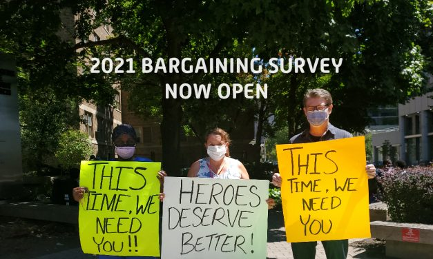 Share your priorities – complete the bargaining survey