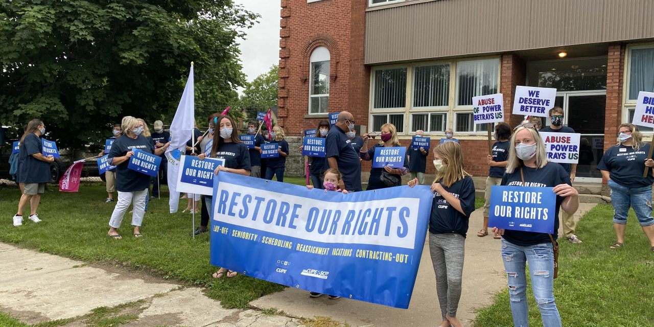 Restore our rights – Regional rallies