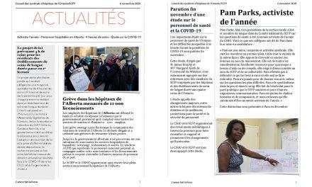 Bulletin – 6 novembre