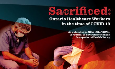 Sacrificed: major study of health care workers during the time of COVID