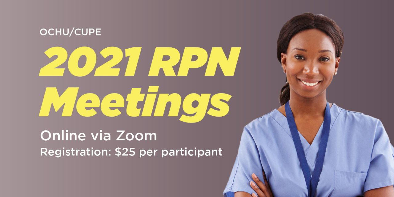 2021 Regional RPN meetings