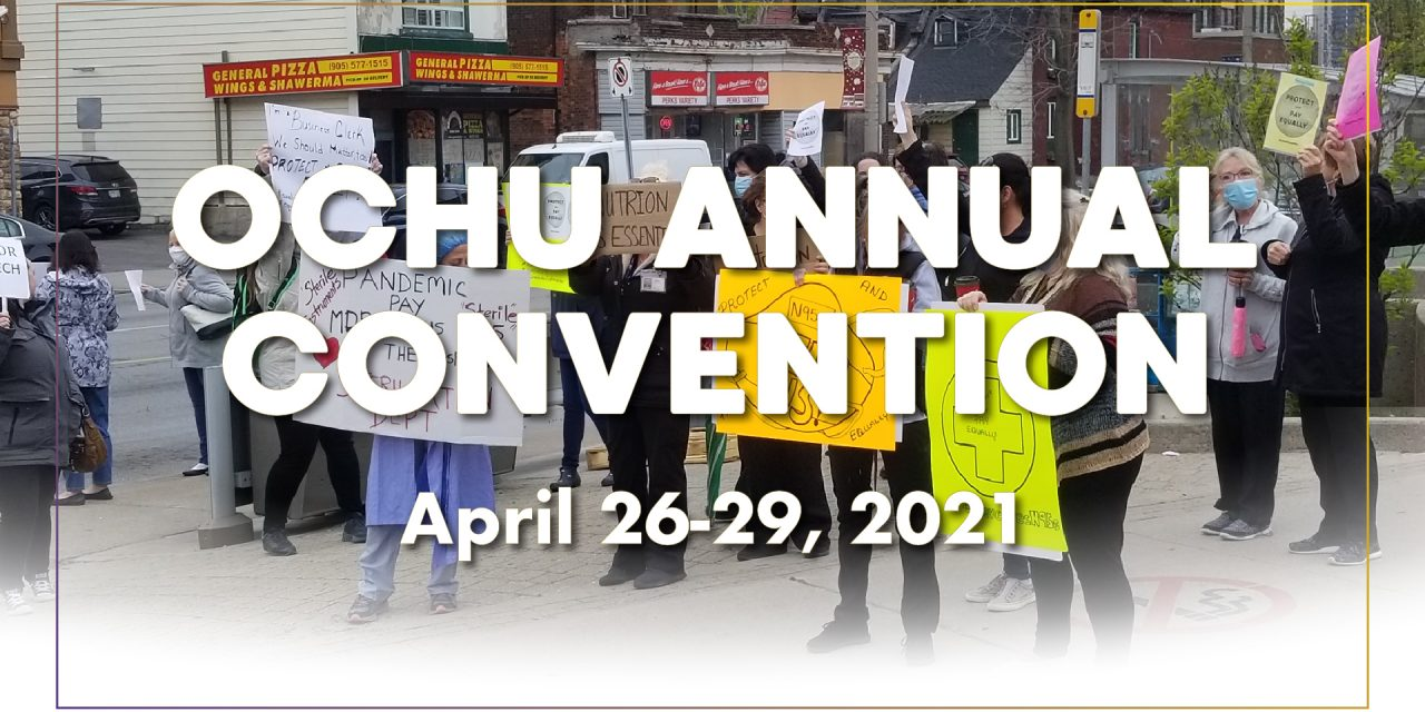 OCHU Annual Convention 2021
