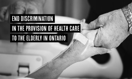 Call for human rights inquiry into systemic discrimination against the elderly in Ontario hospitals and long-term care